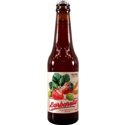 Cerveja Barbarella Morango Garrafa 355ml