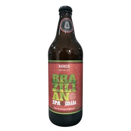 Cerveja Barco Brazilian IPA Goiaba Garrafa 600ml