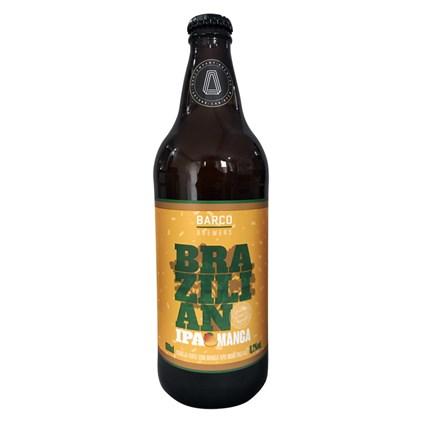 Cerveja Barco Brazilian IPA Manga Garrafa 600ml