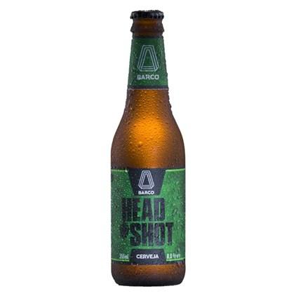 Cerveja Barco Head Shot Double IPA Garrafa 355ml