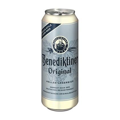 Cerveja Benediktiner Original Hell Lata 500ml