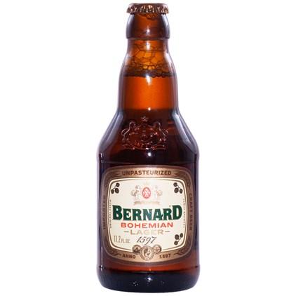 Cerveja Bernard Bohemian Lager Garrafa 330ml