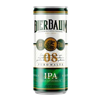 Cerveja Bierbaum American IPA Lata 350ml