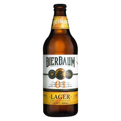 Cerveja Bierbaum Lager Garrafa 600ml