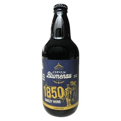 Cerveja Blumenau 1850 Barley Wine Safra 2020 Garrafa 500ml