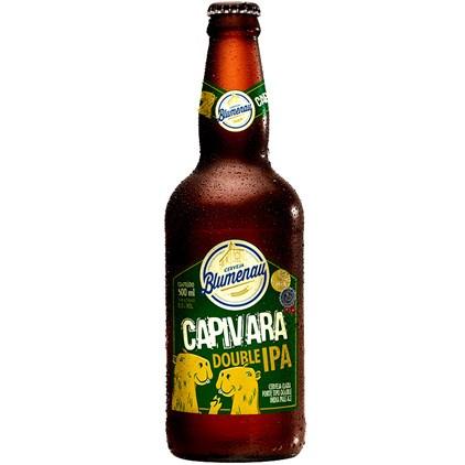 Cerveja Blumenau Capivara Double IPA Garrafa 500ml