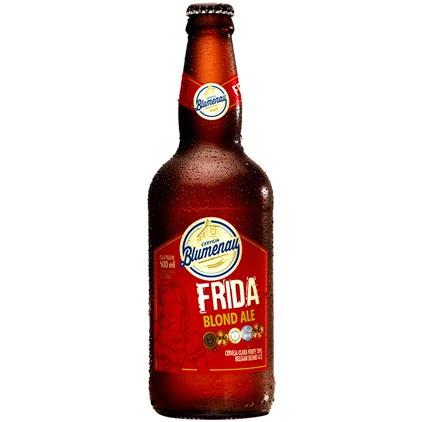 Cerveja Blumenau Frida Blond Ale Garrafa 500ml