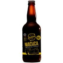 Cerveja Blumenau Macuca Imperial Stout Garrafa 500ml