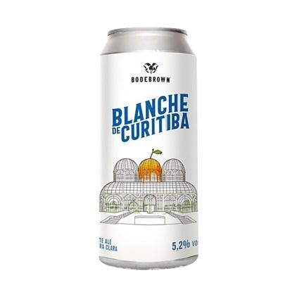 Cerveja Bodebrown Blanche de Curitiba Lata 473ml