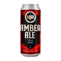 Cerveja Bodebrown De Bora Amber Ale Lata 473ml