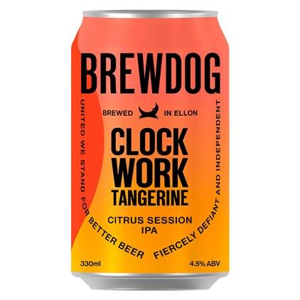 Cerveja Brewdog Clockwork Tangerine Lata 330ml