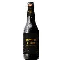Cerveja Brewmaster Selection Imperial Stout Garrafa 355ml