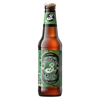 Cerveja Brooklyn Lager Garrafa 355ml