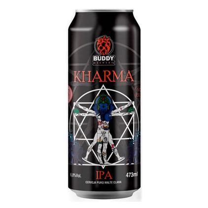 Cerveja Buddy Brewery Kharma IPA Lata 473ml