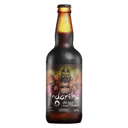 Cerveja Campinas Andarilha Stout Garrafa 500ml
