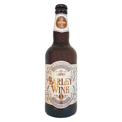 Cerveja Campinas Barley Wine Garrafa 500ml