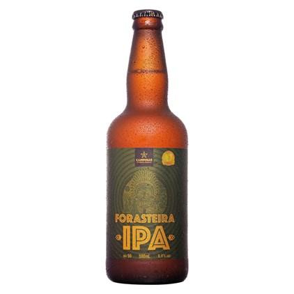 Cerveja Campinas Forasteira IPA Garrafa 500ml