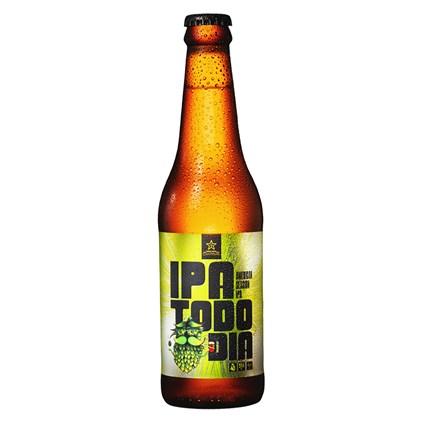 Cerveja Campinas IPA Todo Dia Session Ipa Garrafa 355ml
