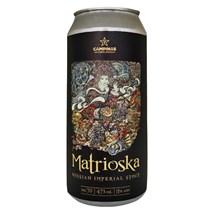 Cerveja Campinas Matrioska Russian Imperial Stout Lata 473ml