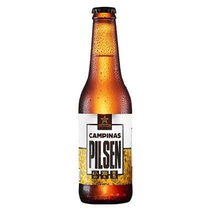 Cerveja Campinas Pilsen Garrafa 355ml
