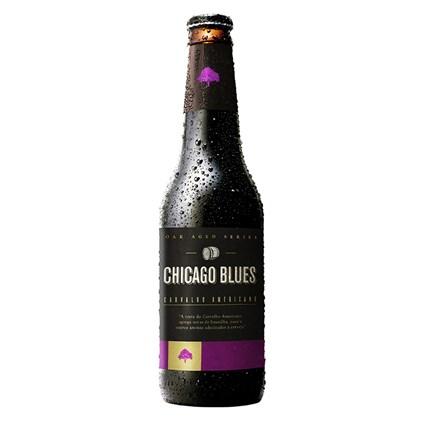 Cerveja Chicago Blues Carvalho Americano Garrafa 355ml