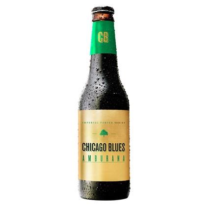 Cerveja Chicago Blues Imperial Porter Amburana Garrafa 355ml