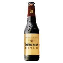 Cerveja Chicago Blues Imperial Porter Chocolate Garrafa 355ml