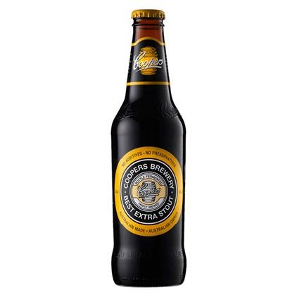Cerveja Coopers Best Extra Stout Garrafa 375ml