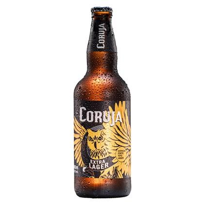 Cerveja Coruja Extra Lager Garrafa 500ml