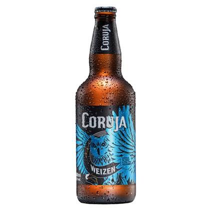 Cerveja Coruja Weizen Garrafa 500ml