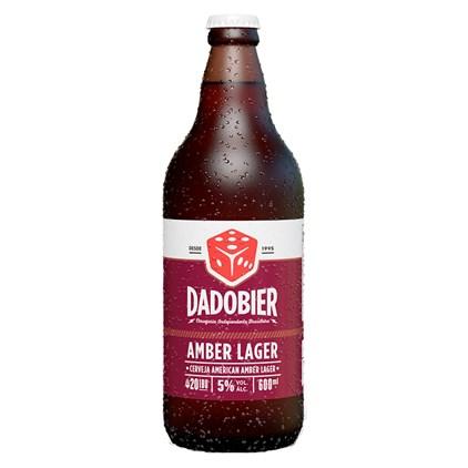 Cerveja Dado Bier Amber Lager Garrafa 600ml
