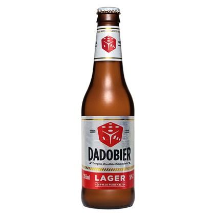 Cerveja Dado Bier Lager Garrafa 355ml