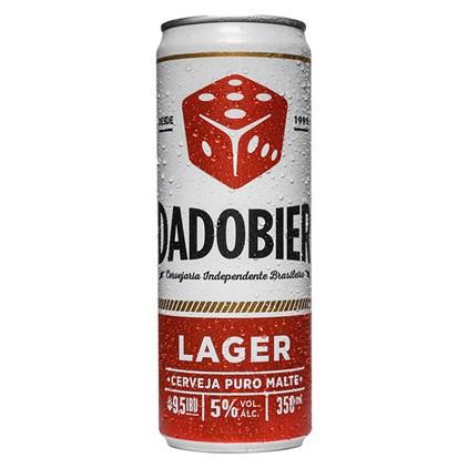 Cerveja Dado Bier Lager Lata 350ml