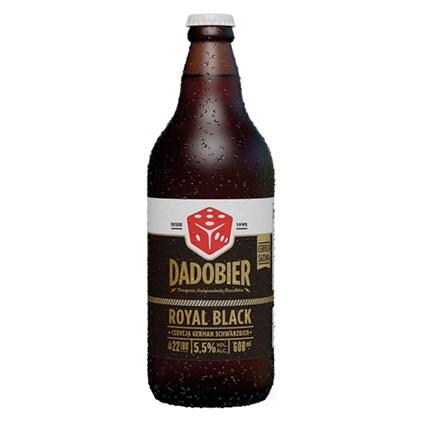 Cerveja Dado Bier Royal Black Garrafa 600ml