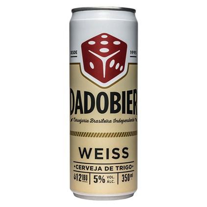 Cerveja Dado Bier Weiss Lata 350ml