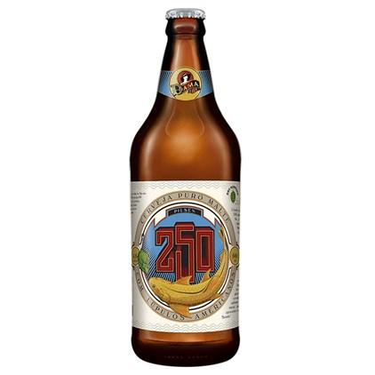 Cerveja Dama Bier 250 Pilsen Garrafa 600ml