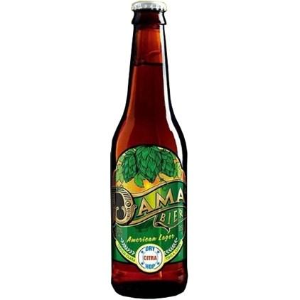 Cerveja Dama Bier American Lager Garrafa 355ml