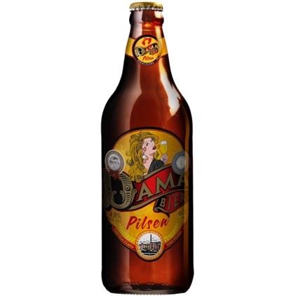 Cerveja Dama Bier Pilsen Garrafa 600ml