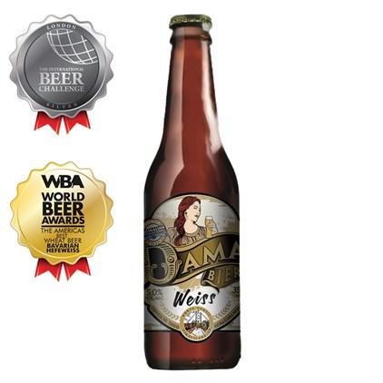 Cerveja Dama Bier Weiss Garrafa 355ml