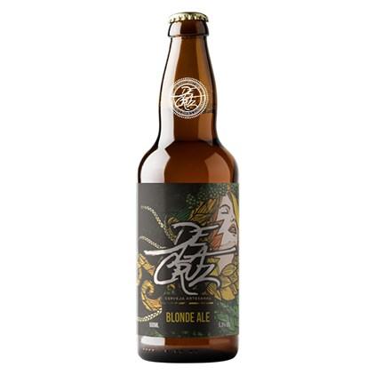 Cerveja Delacruz Blonde Ale Garrafa 500ml