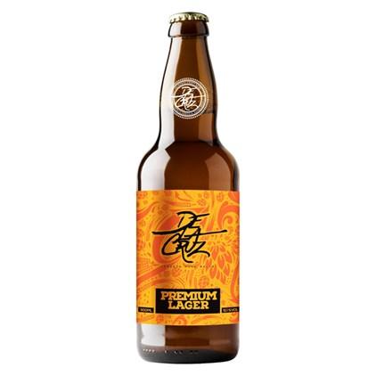 Cerveja Delacruz Premium Lager Garrafa 500ml