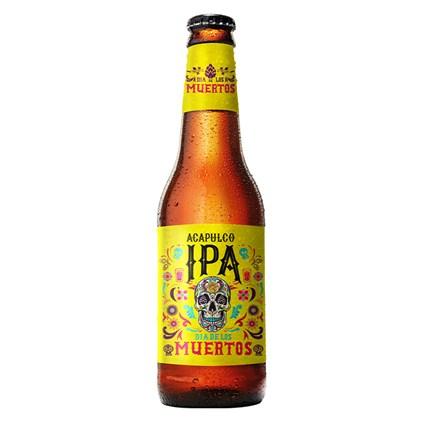 Cerveja Dia de Los Muertos Acapulco IPA Garrafa 355ml
