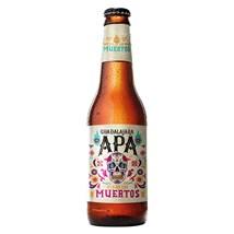 Cerveja Dia de Los Muertos Guadalajara APA Garrafa 355ml