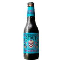 Cerveja Dia de Los Muertos Monterrey Stout Garrafa 355ml