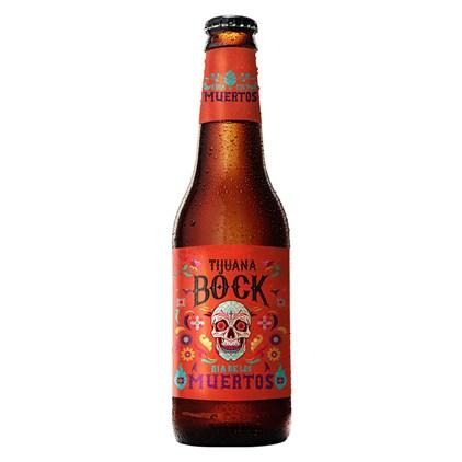 Cerveja Dia de Los Muertos Tijuana Bock Garrafa 355ml