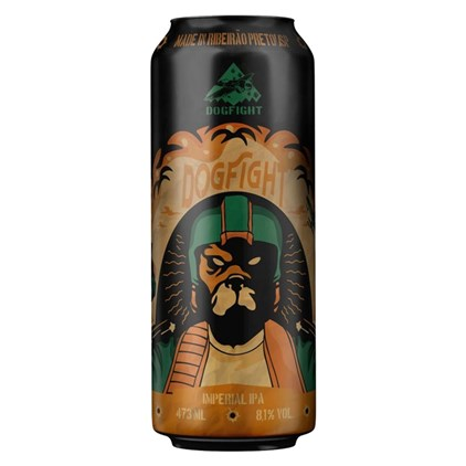 Cerveja Dogfight Imperial IPA Lata 473ml