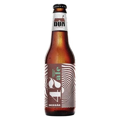 Cerveja DUM Missão 47 American Brown Ale Garrafa 355ml