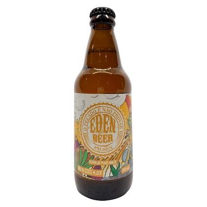 Cerveja Eden Beer Pilsen Garrafa 300ml
