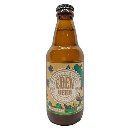 Cerveja Eden Beer Witbier Garrafa 300ml