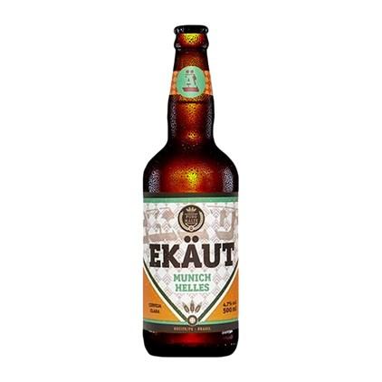 Cerveja Ekaut Munich Helles Garrafa 500ml